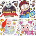 Window stickers Sets, 4 sheets, [001JDC0016]